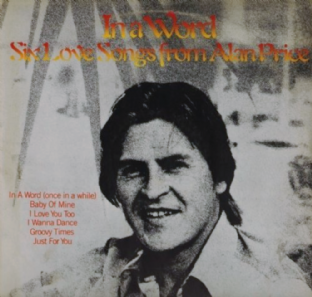 "Alan Price - In A Word: Six Love Songs From Alan Price EP (12"") (G-/G-)"